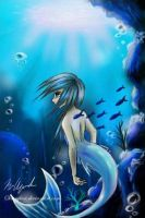 The little mermaid by ScaryFace