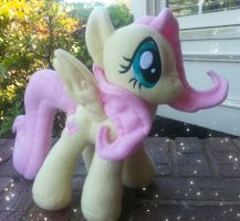 Fluttershy Plush v.2 by MintyStitch