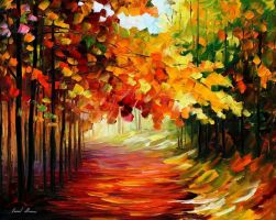 Natures wishes by Leonid Afremov by Leonidafremov