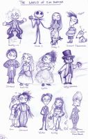 THE WORLD OF TIM BURTON by MarineElphie