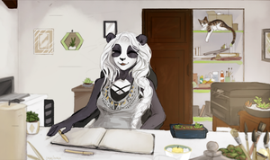 Time to work ! by Shalinka
