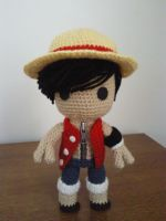 Sackboy Monkey D. Luffy of One Piece by Sackboyncostume