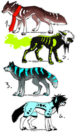 CLOSED - Canine Adoptables 459 by LeaAdoptables