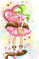 Midori Contest entry 1 Lolita sweet ice cream by JamilSC11