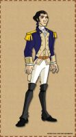 Major General Benedict Arnold by AragornofRedwall