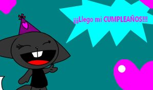 Llego mi CUMPLEANOS by HTF-Characters