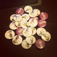 .Badges, baby!. by bababug