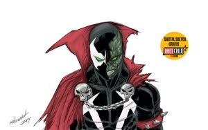 SPAWN digital sketch by mdavidct