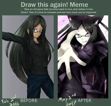 Draw This Again: Feb 2016 - May 2017 by scynexx