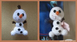 Baby Olaf for Animator's Elsa by Yuki87
