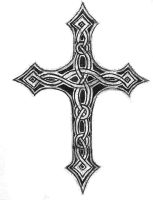 Celtic Cross by Flockie