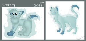 .: Before - After :. by Maipee-Chan