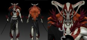 Ichigo Vasto Lorde BLEACH by Zerofrust