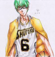 Midorima Shintarou by Mathieux12