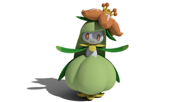 A rare kind of Lilligant... by TheAdorableOshawott