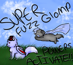 SUPER FUZZ POWERS ACTIVATE by wolfpacks11
