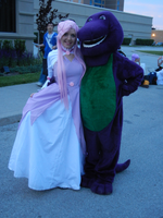 Anime North 2012 - Barney Cosplay by jmcclare