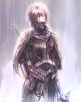Gerome in the Rain by FimbulvetrIce