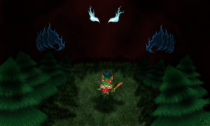 Teemo in Darkness by Wugrash