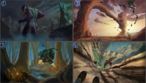 Dreamscape thumbnails - Suggest you favorite! by TomasBj