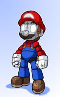 Robo Mario by rongs1234