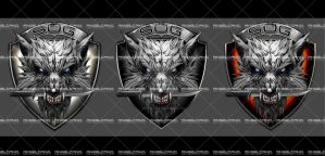 wolf final logo by angelcanohn