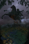 Sleepy Hollow [Poser and Bryce Circa 2002] by audre