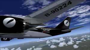 RavenFreight B747-8F Nacelles, Wing and Empennage by HYPPthe