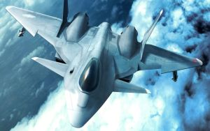 Ace Combat XFA-24 Apalis by Scarlighter