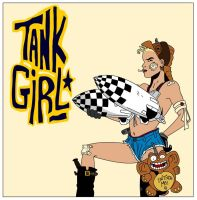 Tank Girl by sirbigtom