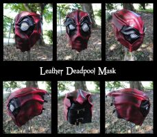 Full Leather Deadpool Mask by Epic-Leather