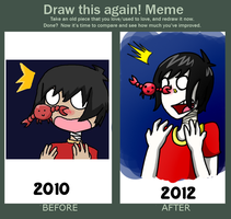 Drawing this again meme. by MexicanManatee