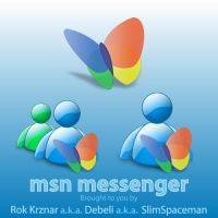 msn messenger by SLiMspaceman