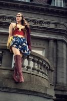 Wonder Woman by TEMPERATE-SAGE