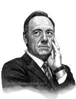 Kevin Spacey - House of Cards by aaronwty