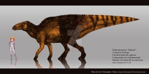 Dakota Edmontosaurus by Christopher252
