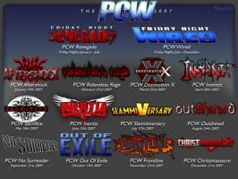 PCW Events of 2007 by inertiafx