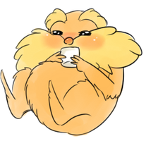 Cute Lorax by BoneHatter