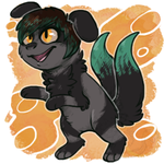 Cheeb Cuteness - Commission - by CrownedVictory