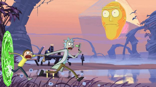 Rick and Morty Crossover to No Man's Sky by nontendofied