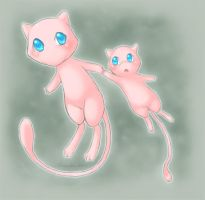 Pokemon 151: Mew by amostar