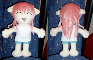 Elfen Lied Lucy-Nyuu yet again by magickitty1972