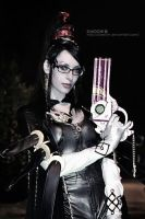 Bayonetta's  eyes by Daelyth