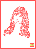 Kim Ah Young - Girl's Day Yura typography by ixam5045