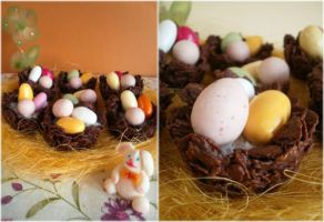 Easter nests by MeYaIeM