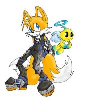 Tails:  Sonic Mix by Biskuits