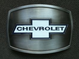 my Chevrolet Belt Buckle by sevenxlives