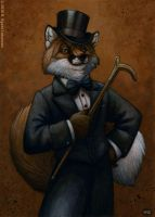 Dapper Fox by kyoht