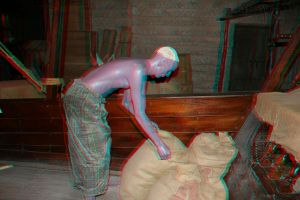 3d Dubai museum stereo anaglyph by amirajuli