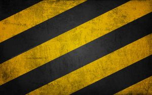 Harry Potter Wallpaper: Hufflepuff Stripes by TheLadyAvatar